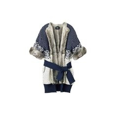 D & G (D & G) - Cardigan - Search fashion catalog 3007 | VOGUE.COM ❤ liked on Polyvore featuring tops, cardigans, outerwear, jackets, sweaters, d&g top and cardigan top