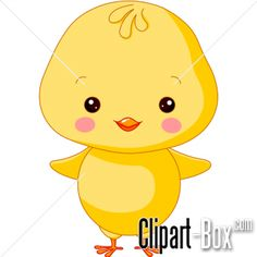 CLIPART FARM CHICK | Royalty free vector design