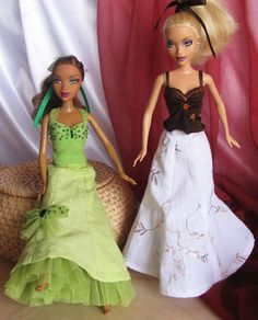 http://www.pinterest.com/hollyrn46/doll-sewing-ideas/ Expanded Five-part Skirt - Free Pattern and Instructions
