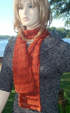 """""""Open Lines""""  Pattern: http://www.ravelry.com/patterns/library/open-lines  by Lisa Gentry"""