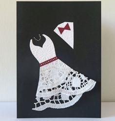 Doily Wedding Card
