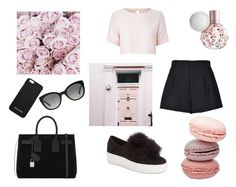 """pretty in pink"" by malinsoderman ❤ liked on Polyvore featuring RED Valentino, True Decadence, Steve Madden, Yves Saint Laurent, MICHAEL Michael Kors and Burberry"