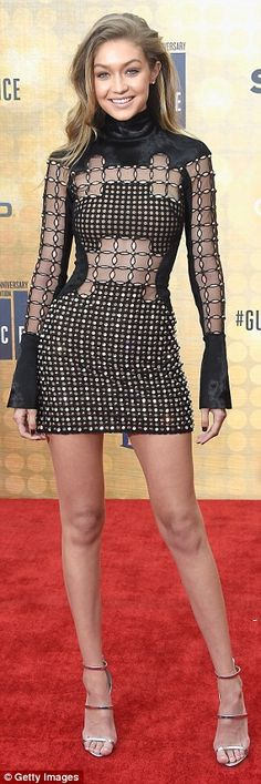 GIGI - 06/04/2016  Was named 'Our New Girlfriend' at Spike TV's Guys Choice Awards in Los Angeles.