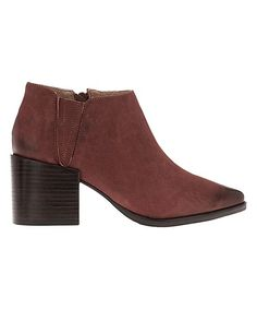 Red Victory Leather Bootie