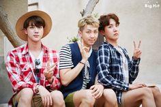 SeokJin, NamJoon & Hoseok