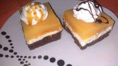 Marhuľové trojfarebné rezy s miláčikovým krémom Cheesecake, Pudding, Cupcakes, Advent, Basket, Cupcake Cakes, Cheesecakes, Custard Pudding, Puddings