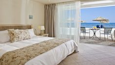 Enjoy your stay at waterfront view accommodation at Creta Beach!