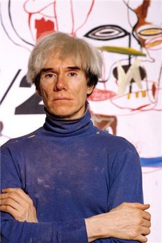 Andy Warhol by Ebet Roberts, 1984