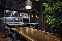 For an intimate dining experience it's difficult to outdo Atera—a snug restaurant in Manhattan's Tribeca neighborhood with just 18 seats in its main dining room.