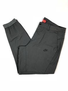 c093e34d Nike Mens Sportswear Bonded Jogger 823363 038 Size 40 Slim Fit Gray Pants  $120