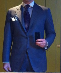 PoW suit by Sartoria Gianni Volpe
