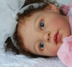 (Louisa by Jannie de Lange). Reborn Toddler, Reborn Baby Dolls, Life Like Babies, Barbie Wedding Dress, Toddlers, Bebe, Young Children, Little Boys, Reborn Dolls