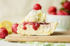 Clean Eating & Flexible Dieting (IIFYM): Strawberry Lemonade Protein Cheesecake (procheesecake)! Protein packed dessert!!!