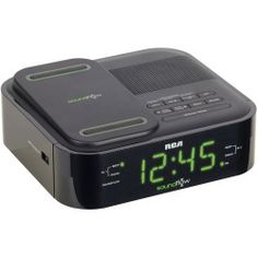 compare RCA Rc250Bk Black Alarm Clock Soundflow Radio Wireless Audio | Shop All Product 2014