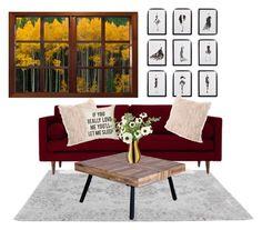 """Untitled #15"" by eporima on Polyvore featuring interior, interiors, interior design, home, home decor, interior decorating, Frontgate, Joybird and LSA International"