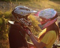 Motocross Love. Couples that ride together, stay together.