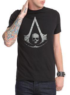 Assassin's Creed IV: Black Flag Logo T-Shirt   Hot Topic