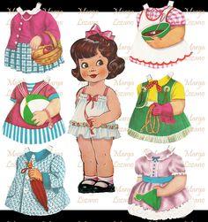 Childrens Workshop, Fun Crafts, Paper Crafts, 3d Sheets, Paper Dolls Printable, Carry All Bag, Vintage Paper Dolls, Paper Models, Vintage Advertisements