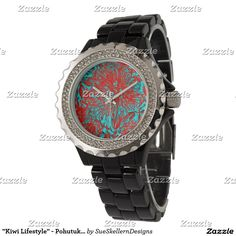 Shop Zazzle's selection of customisable Kiwi watches & choose your favourite design from our thousands of spectacular options. Casio Watch, Kiwi, New Product, Michael Kors Watch, Bloom, Watches, Lifestyle, Accessories, Products