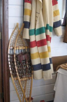(Make a Hudson Bay Blanket coat.)   // canada \\