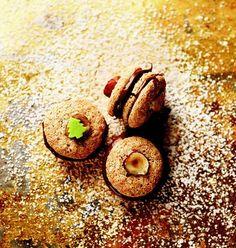 Čokoládovo-pistáciové dortíčky