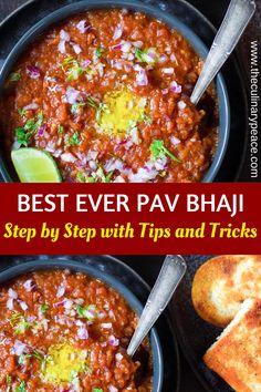 Vegetarian Curry, Vegetarian Recipes Dinner, Snack Recipes, Dinner Recipes, North Indian Recipes, Easy Indian Recipes, Bhaji Recipe, Pav Bhaji, Using A Pressure Cooker