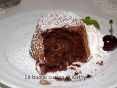 La buona cucina di Katty: Tortino dal cuore tenero di cioccolato