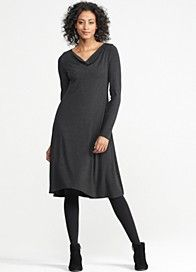 Nothing classier than the LBD by Eileen Fisher