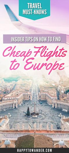 how to find cheap flights within europe