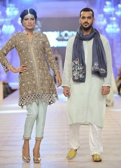 Nida Azwer The Ghalib Collection Bridal Wear 2015 at Fashion Week - Clothing9 | Latest Clothes Fashion Online | Pakistani Dress Designers