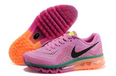 Nike  AirMax  womensshoes  2014 Love this  Pink and  Tangerine Combo 57dd27bddd2