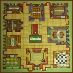 VITRINES MINIATURES - Imprimables jeux et disques - Le monde en miniatures - Miniature Cluedo Board: