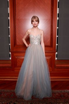 9b3db83242f45 What About Her Flowy Gown From the 2011 Nashville Symphony Ball