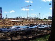 Arena do Grêmio / Início da construção / Arquivo Estação de Notícias