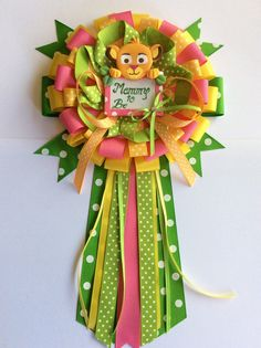 Lion king baby shower mommy to be bow baby by Marshmallowfavors