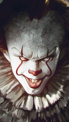 It Chapter 2 Pennywise The Clown 4k Hd Mobile And