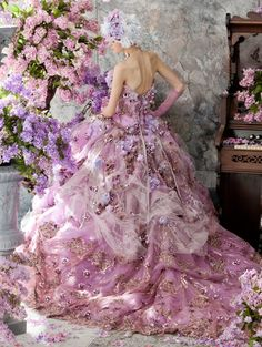 stella de libero #dress #wedding www.BlueRainbowDesign.com