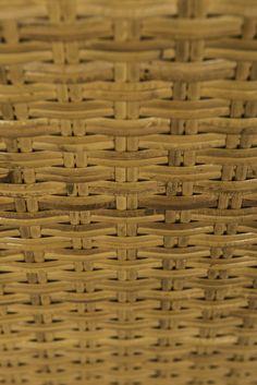 Hans Wegner sideboard in oak and woven cane at Studio Schalling