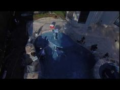 MMG Blue Surf Pebble Sheen Application for Regal Pools 2
