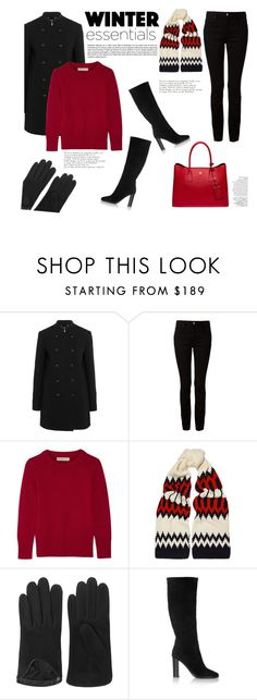"""My Winter Wardrobe Staples for 2015"" by katsin90 ❤ liked on Polyvore featuring Chloé, T By Alexander Wang, Burberry, rag & bone, Jimmy Choo, Prada, Avenue and winterstaples"