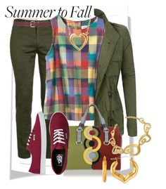 """End of Summer Days"" by saritanwa ❤ liked on Polyvore featuring M&Co, Toast, LE3NO, Dsquared2, Vans and Stefano Patriarchi"
