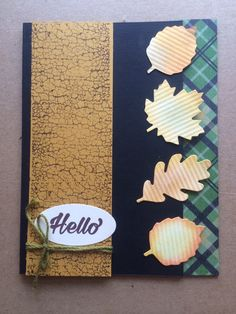 Stampin Up Paper Pumpkin alternative October 2016 by Pat McG.