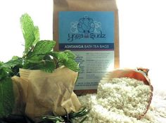 Ashtanga Organic French Sea Salt Bath Tea Bags by Yoga Sudz. $19.99. Blended with pure organic or wildcrafted essential oils. Internationally certified organic French sea salt with Japanese organic matcha green tea. Sea salt awarded France's Nature & Progrès certification, the highest, most stringent certification, respecting product quality from harvest to final packaging.. No bleaching or chemical processing--just wind and sun from North Atlantic seawater. Invigorating pepp...