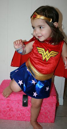 wonder woman toddler costume - For the girl