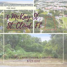 Need a fresh start for your business? Why not set up shop in ever-growing Saint Cloud? Vacant Land, Find Homes For Sale, Fresh Start, Next At Home, Investment Property, Virtual Tour, Finding Yourself, Tours, Business
