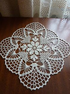 Items similar to table runner,set of doilies,table cover on Etsy - lace table clothtable runnerbeige doilycrochet Crochet Doily Rug, Crochet Doily Patterns, Crochet Tablecloth, Thread Crochet, Crochet Gifts, Crochet Stitches, Crochet Table Runner, Lace Table, Lace Doilies