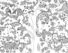Kerby Rosanes Animorphia Free Pattern Download