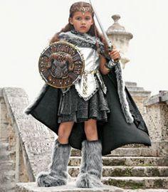 warrior girl costume - Chasing Fireflies