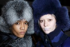 Moncler Grenoble at New York Fashion Week Fall 2015 - Backstage Runway Photos