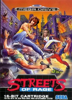24th made up photo of the original Streets Of Rage with Jason Patric as Axel Stone and Shawn Weatherly as Blaze Fielding.